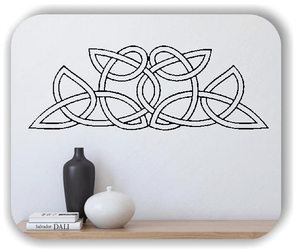 Wandtattoos Keltischer Knoten - Geltic Design - Motiv 18
