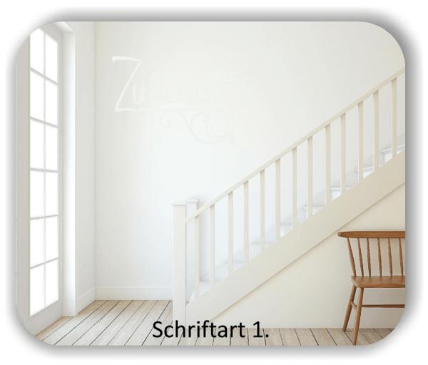 Wandtattoos Spruch - Willkommen Zuhause