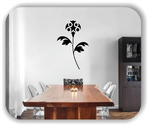 Schnittblumen Wandtattoos - ab 32x50 cm - Motiv 9041