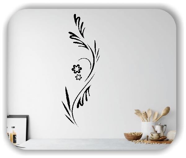 Florale Wandtattoos Japan Motiv - ab 20x60 cm - Motiv 3271