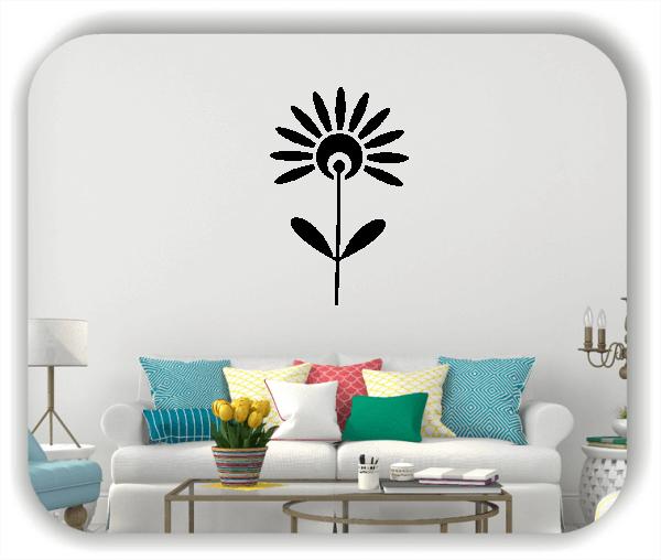 Schnittblumen Wandtattoos - ab 32x50 cm - Motiv 9035