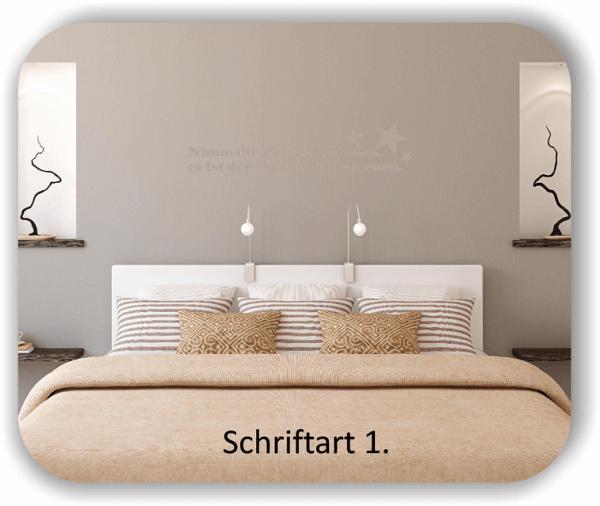 Wandtattoos - Sprüche & Zitate – Nimm dir Zeit zu träumen, es ist...