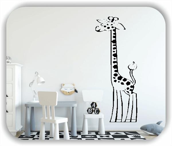Wandtattoos Tiere - Giraffe