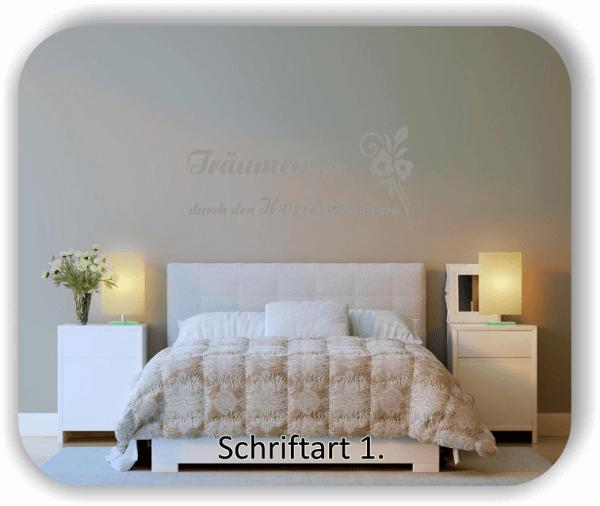 Wandtattoos - Sprüche & Zitate - Träumen heißt...