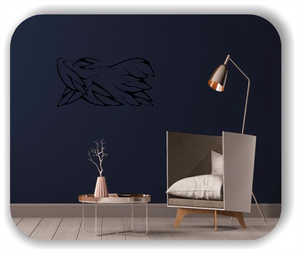 Wandtattoos Ornamente Natur - ab 50 x 25 cm - Motiv 88