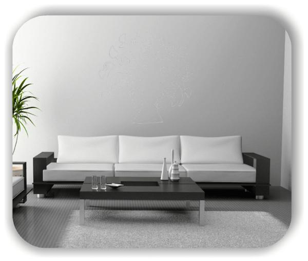 Wandtattoos Baum - ab 50x55cm – Selbstklebend