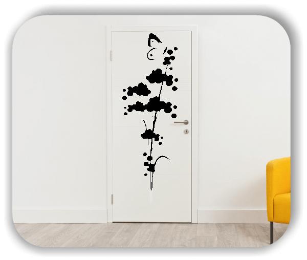 Florale Wandtattoos Japan Motiv - ab 20x60 cm - Motiv 3274