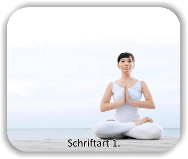 Wandtattoos Spruch - Yoga