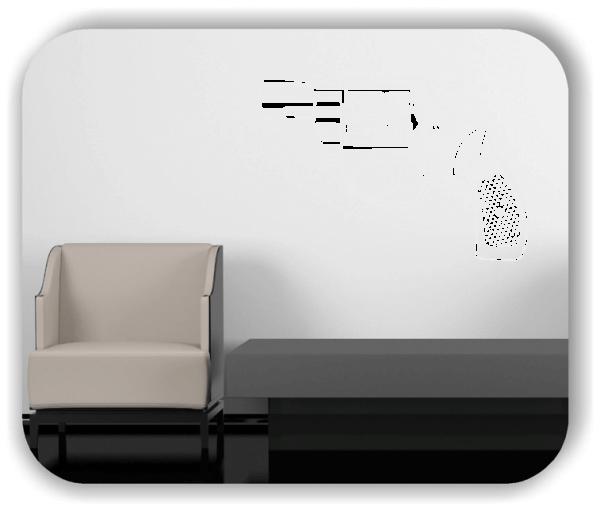 Wandtattoos Hobby - ab 50x34 cm - Motiv 1031