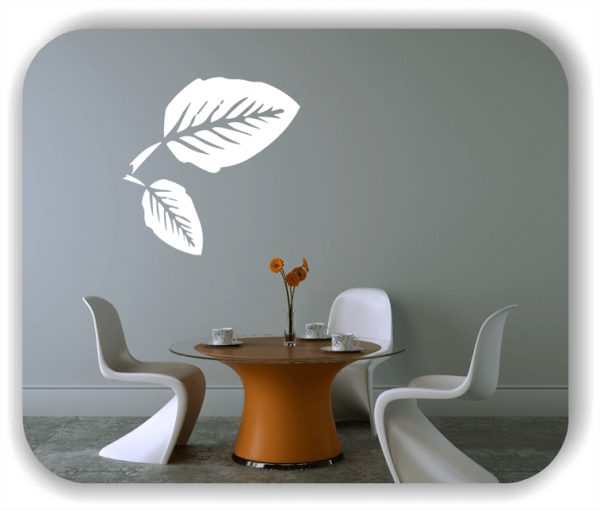 Wandtattoos Blätter - ab 50x50cm - Motiv 8224