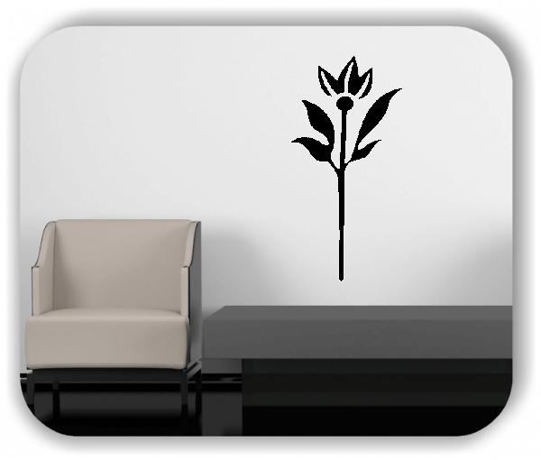 Schnittblumen Wandtattoos - ab 25x50 cm - Motiv 9015