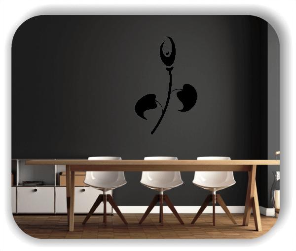 Schnittblumen Wandtattoos - ab 32x50 cm - Motiv 9038
