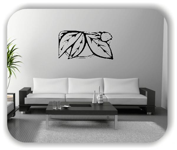 Wandtattoos Ornamente Natur - ab 50 x 25 cm - Motiv 67
