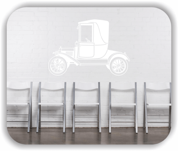 Wandtattoos Fahrzeuge - ab 50x34 cm - Oldtimer 20er Jahre