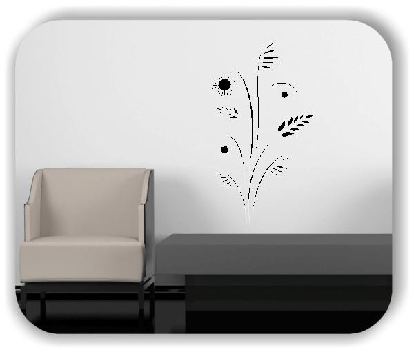 Florale Wandtattoos Japan Motiv - ab 33x60 cm - Motiv 3233