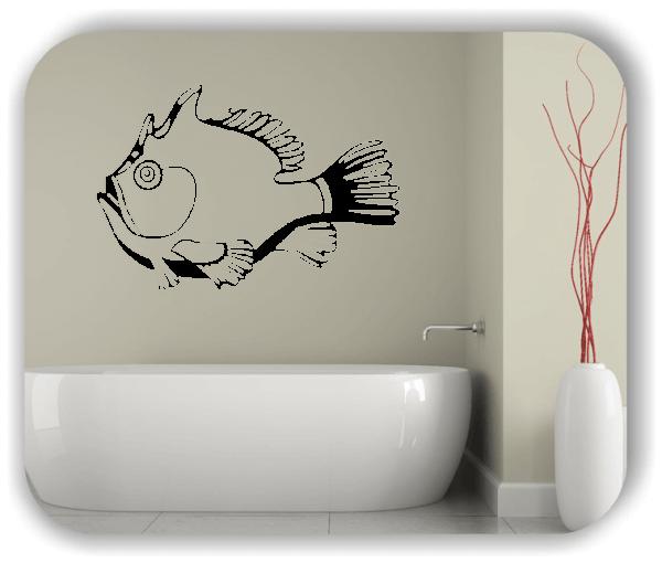 Wandtattoos Tiere - ab 50x34 cm - Dicker Fisch