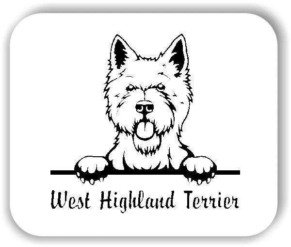 Wandtattoos Tiere - Hunde - West Highland Terrier
