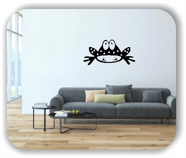Wandtattoos Tiere - Frosch mit Blick nach oben