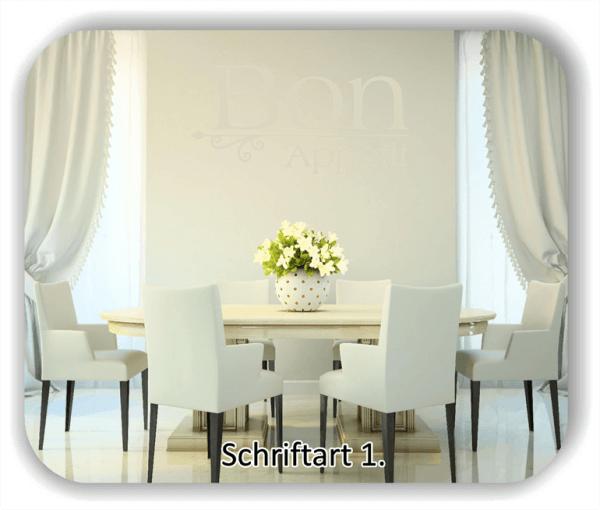 Wandtattoos – Küche Bon Appetit