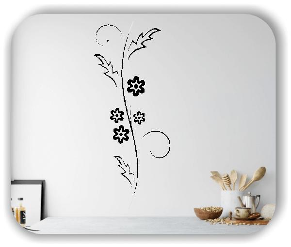 Florale Wandtattoos Japan Motiv - ab 25x60 cm - Motiv 3255