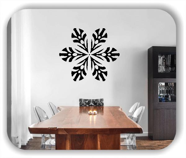 Snowflakes Wandtattoos - Schneeflocke - ab 50x43 cm - Motiv 2572