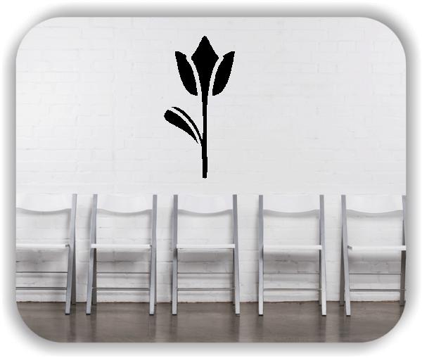 Schnittblumen Wandtattoos - ab 25x50 cm - Motiv 9016