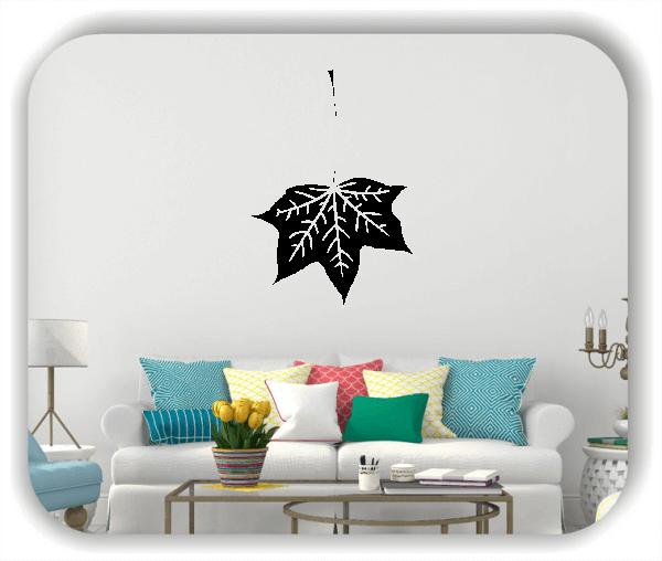 Wandtattoos Blätter - ab 50x70cm - Motiv 8240