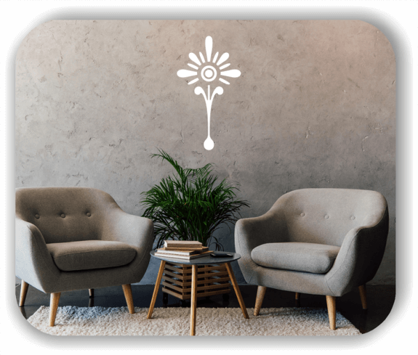 Schnittblumen Wandtattoos - ab 28x50 cm - Motiv 9029