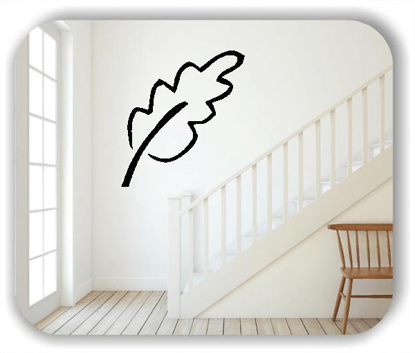 Wandtattoos Blätter - ab 50x55cm - Motiv 8260