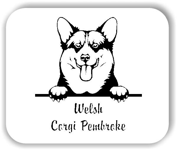 Wandtattoos Tiere - Hunde - Welsh Corgi Pembroke