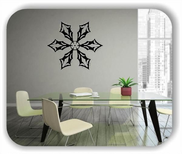 Snowflakes Wandtattoos - Schneeflocke - ab 50x43 cm - Motiv 2571