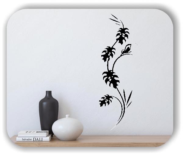 Florale Wandtattoos Japan Motiv - ab 20x60 cm - Motiv 3280