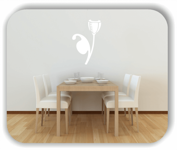 Schnittblumen Wandtattoos - ab 32x50 cm - Motiv 9039