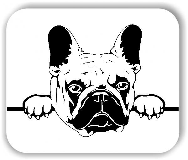 Wandtattoos Tiere - Hunde - Französische Bulldogge Variante 4 - ohne Rassename
