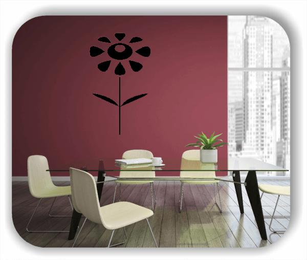 Schnittblumen Wandtattoos - ab 30x50 cm - Motiv 9034