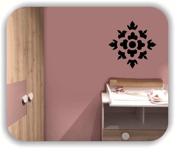 Wandtattoos Dingbats Floral - ab 50x50 cm - Motiv 4117