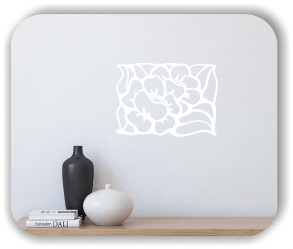 Wandtattoos Ornamente Natur - ab 60 x 43 cm - Motiv 17